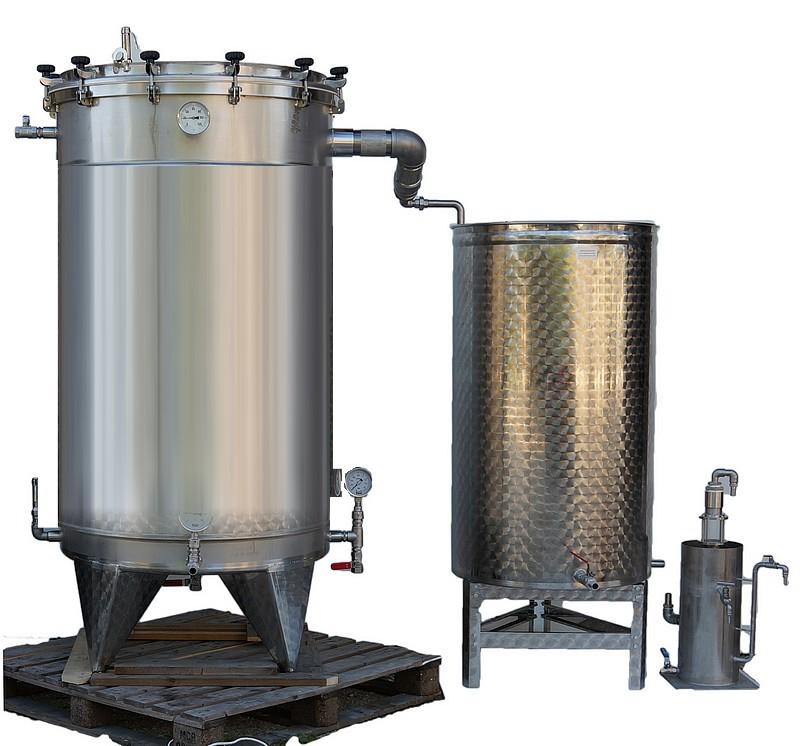 PRO1-E - INOX 304 - 500L à 4x1000 L