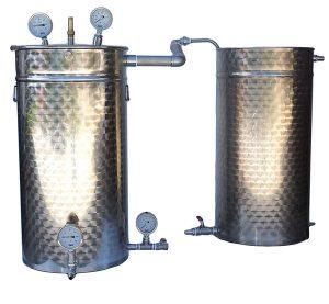 ALAMBICS DISTILLATEURS 25 à 500 litres - SEMI-PRO