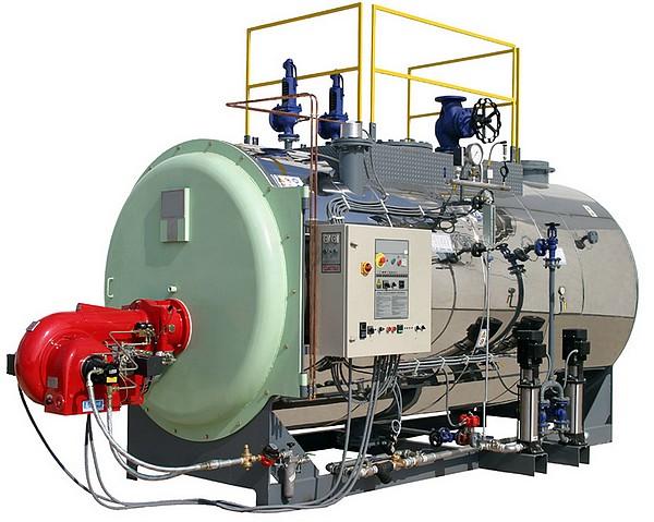 Chaudière vapeur FUEL/GASOIL fixe