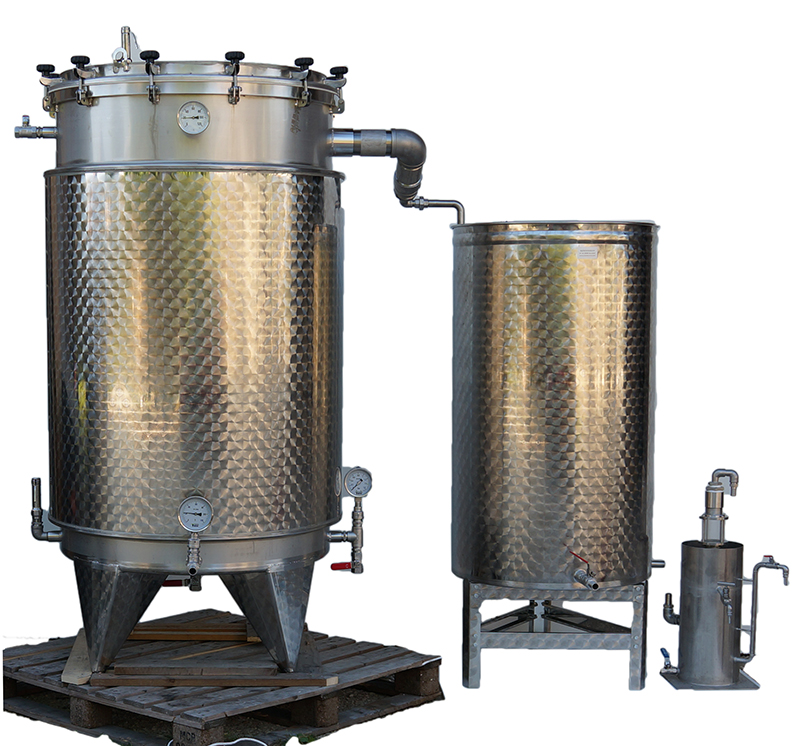 PRO3-IS INOX 316 - 500L à 4 x 2000L