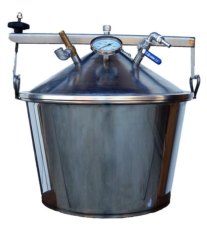 ALAMBIC GAZ SPRN - 35 à 500 litres - Hydro-distillation