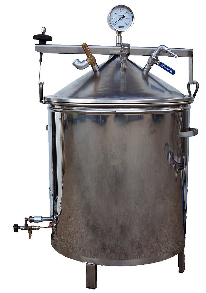 INFUSEUR Plantes GAZ - 35 à 90 litres
