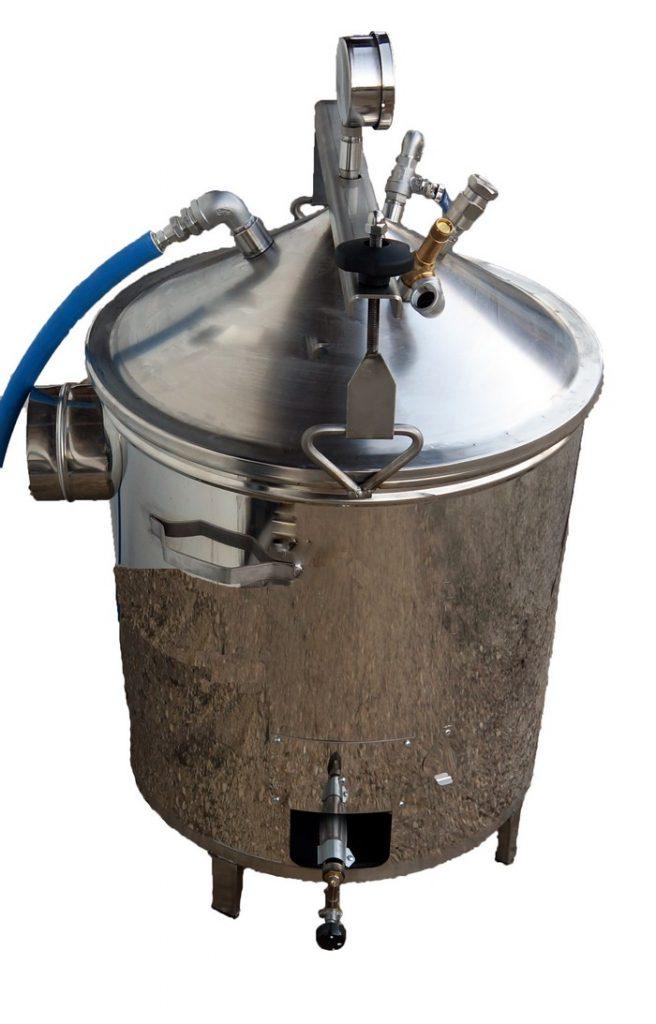 Bouilleur vapeur GAZ