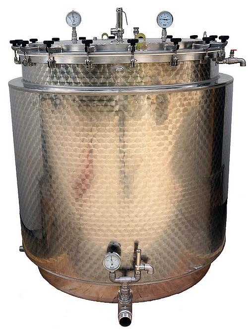 diistillateur production huiles essentielles 2000 litres