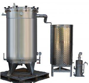 distillateur alambic inox pour plantes