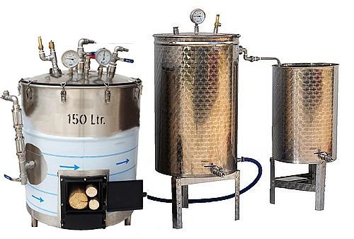 SPV 150 à 300 L réfractaire - BOIS - 3 méthodes
