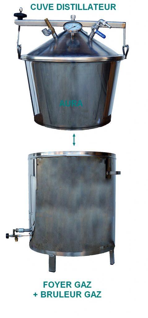 hydrodistillateur chauffage gaz