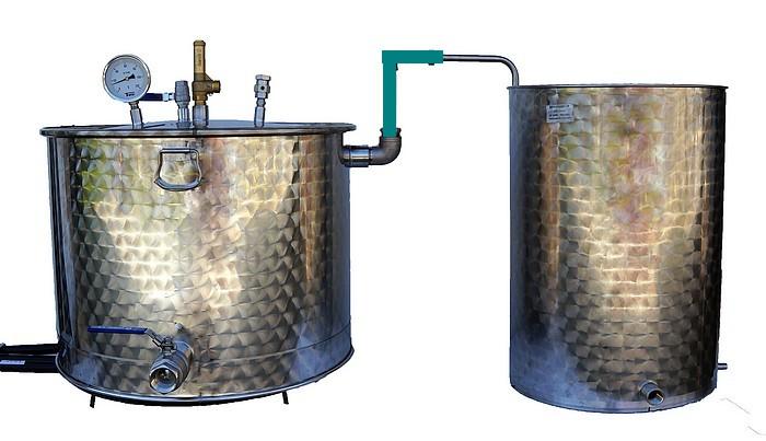 DISTILLATEUR GAZ SPRB 200 litres