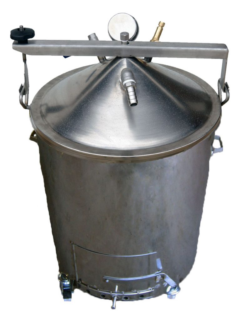 Bouilleur vapeur BOIS - INOX