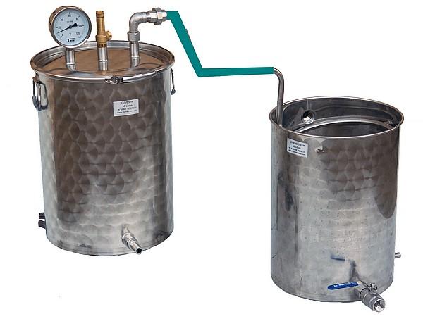 distillateur alambic inox 50 litres pour production huiles essentielles