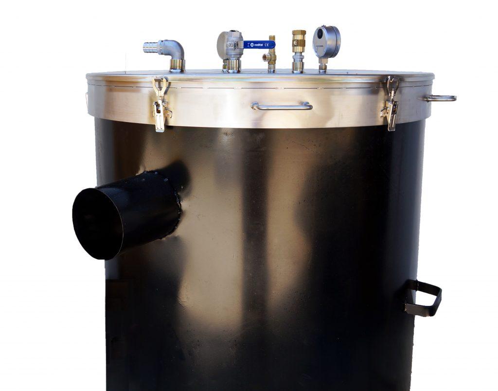 bouilleur vapeur bois
