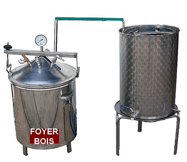 SPCH 35 à 200 L - BOIS - 2 méthodes