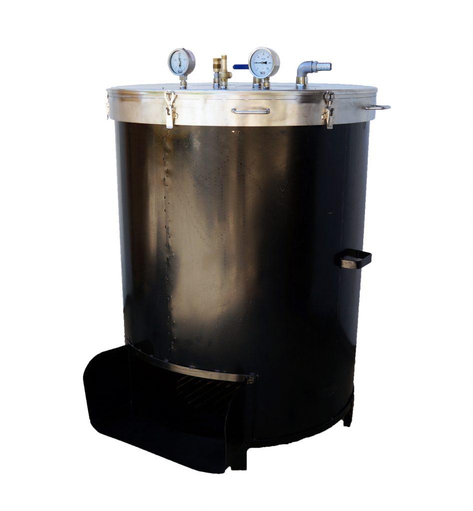 Bouilleur vapeur BOIS - ACIER