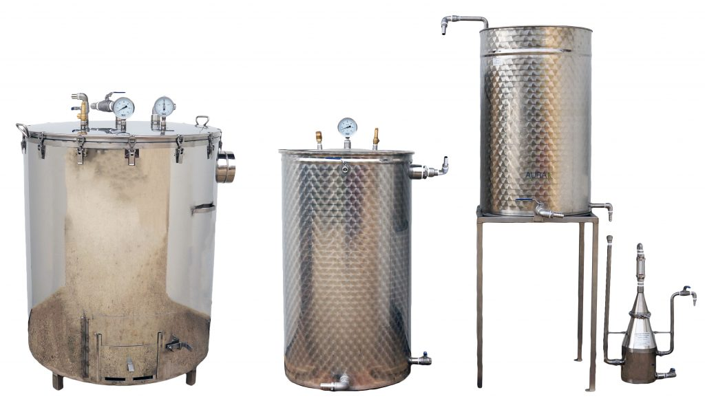 SPCV-SPB 300-500 L - BOIS - 3 méthodes