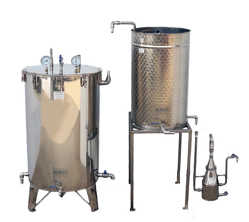 DISTILLATEURS 150 à 1000 litres - PRO1C