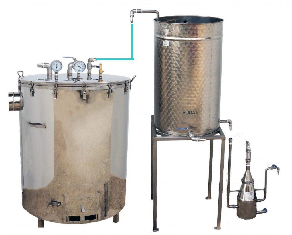 SPCH 35 à 500 L - BOIS - 2 méthodes