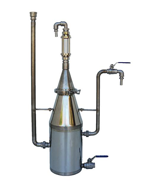 Essenciers INOX - 3 à 125 litres