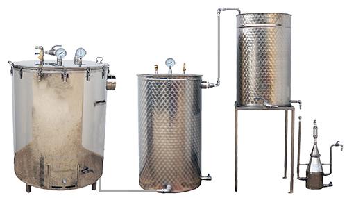 SPCV-SPB 300-500 L - BOIS - 3 méthodes - Semi-pro