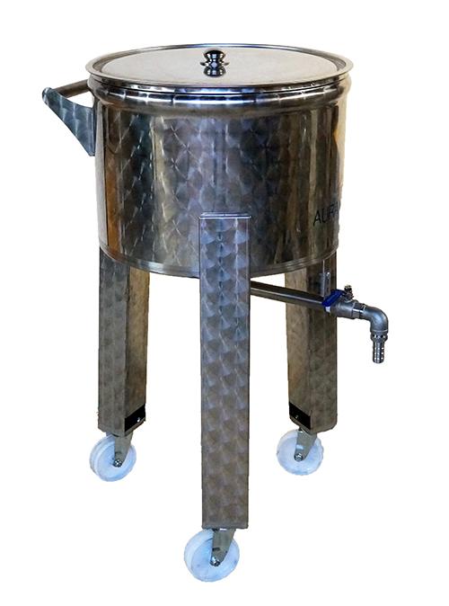 CUVE mobile sur pieds - 100 à 180 litres